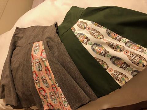スカート!